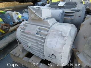 Reliance Electric 10 HP 3 Phase Motor