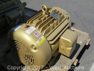 Baldor 15 HP 3 Phase Motor