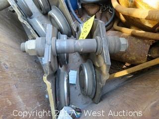 (3) Chain Hoist Rollers