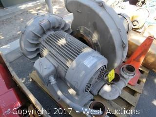 Fiji Electric 20 HP Motor with Industrial Water Pump