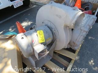 Baldor 10 HP 3 Phase Motor with Vent Fan