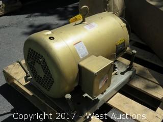 Baldor Super-E 10 HP 3 Phase Motor