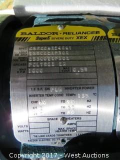 Baldor 1HP 3 Phase Motor