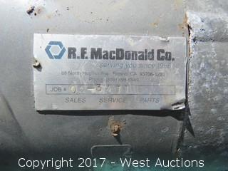 R.F. MacDonald 15HP Motor with G&L 7SHK6 Pump