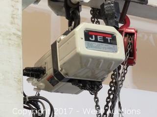 Gantry Overhead 1 Ton Crane with Jet 4400Lb Chain Hoist