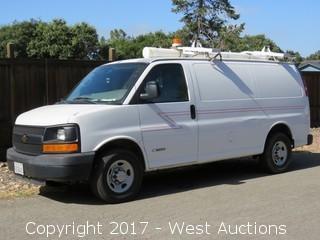 2006 Chevrolet Express Utility Van