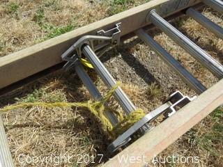 12' Werner Fiberglass Extension Ladder