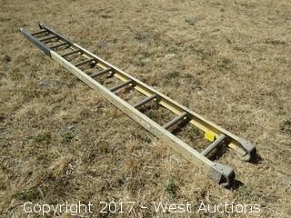 10' Werner Fiberglass Ladder