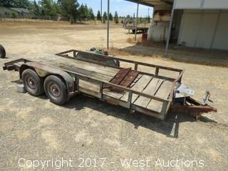 16' Spencer Flatbed Trailer