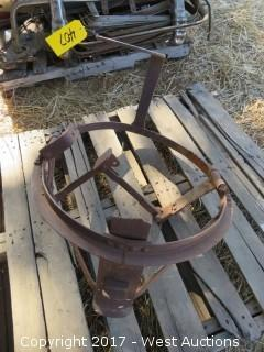 Spare Tire Carrier for Antique Large Car or Truck
