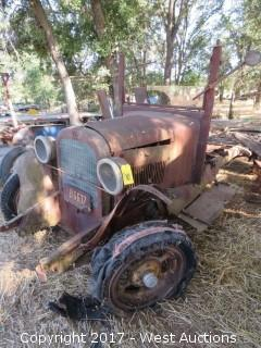 Rare Graham Brothers Flat Bed Truck with Original 4 Cylinder Motor