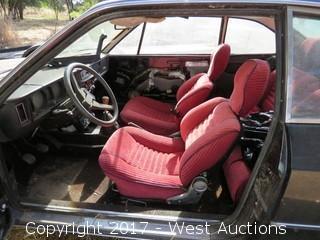 Lancia B 2-Door 4-Seat Car with Sunroof