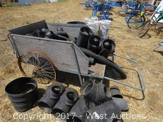 Drain Pipe Parts (Cart Not Included)