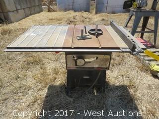 "Craftsman Table Bench 10"" Saw"