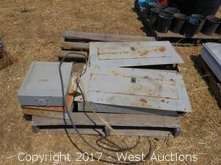 (4) Electrical Fuse Boxes