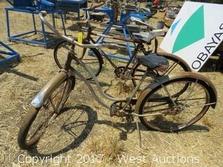 (2) Old Bicycles