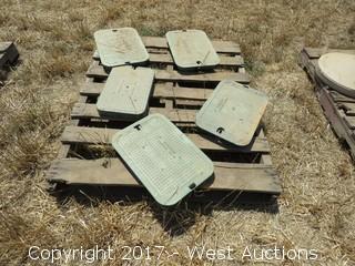 (5) Irrigation Control Valve Covers