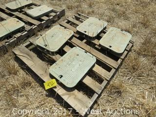 (4) Irrigation Control Valve Covers