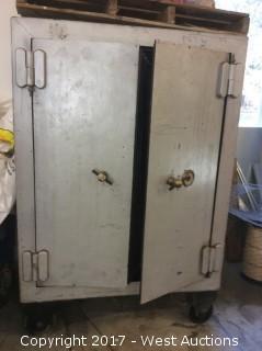 1899 Vintage Floor Safe