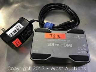 Blackmagic Battery HDSDI to HDMI Converter