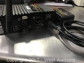 RGBWA+ UV light Wireless Transmitter
