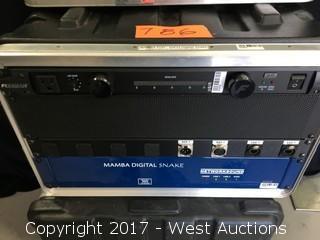 Network Sound Mamba 32x32 Ch Digital Snake System with Split