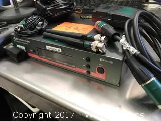 Sennheiser G3 E835 HH/LAV Wireless Combo Mic Pkg