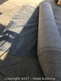 114'x12' Grey Carpet