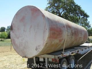 12,000 Gallon Water Tank 30'