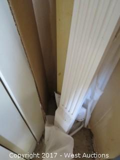 """(4) Fluted Poly 8' x 4"""" Cornices"""