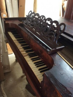 1864 Steinway and Sons Grand Piano