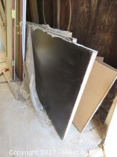 (2) Solid Core Fire Resistant Tested Doors