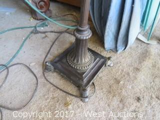Bygone Era Lamp Stand & Shades