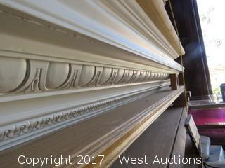 White Decorative 6' Mantle