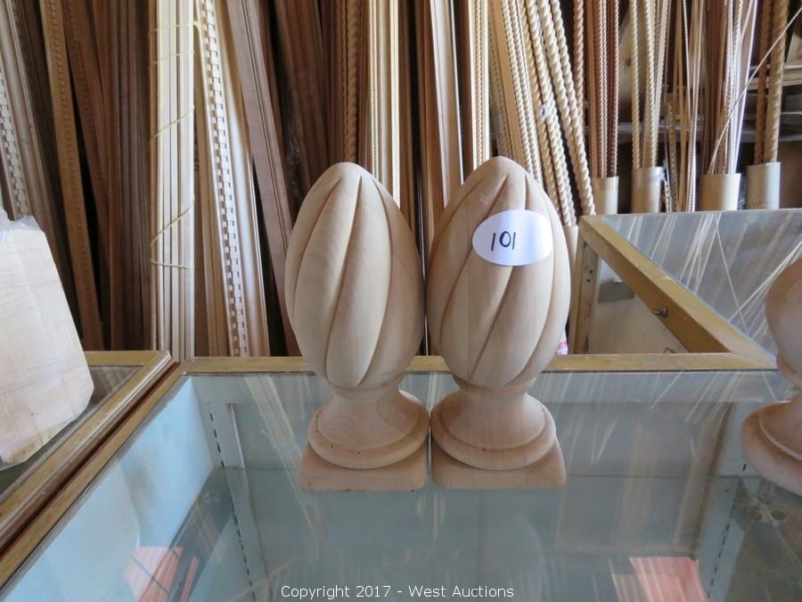 Auction of Crown Molding, Columns, Pilasters, Rosettas/Corner Blocks and Square Grand Pianos