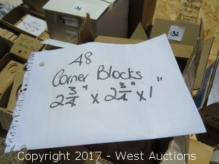 (48) Corner Blocks