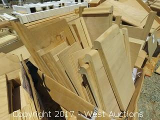 (18) Various Stair Ends, Inserts and Pieces