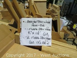 Assorted Word Stair Pieces