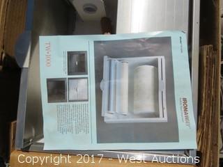 Built-in Towel Dispenser and (26) Tanaka Power Equipment 2 Stroke Engine Oil