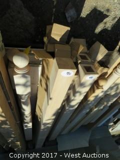 (3) Solid Oak Blocks