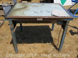 Exposure Light Table for Screen Printing