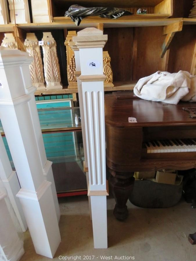 Auction of Crown Molding, Columns, Pilasters, Rosettas/Corner Blocks and Square Grand Pianos