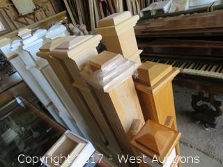 (5) Assorted Columns