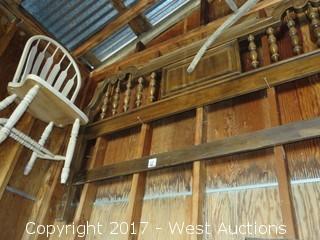 Wooden Thomasville King Size Headboard