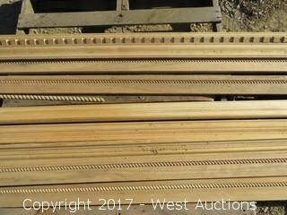 Variety of Wood Crown Molding