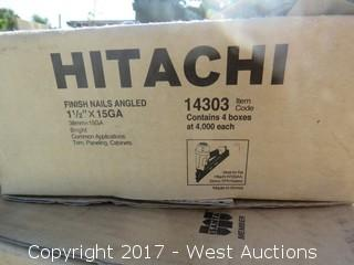 Hitachi Brad Finish Nails & Staples