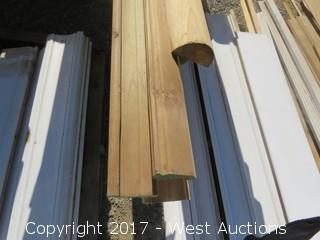 Variety of Real Wood Molding