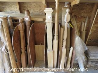 (1) Real Wood Baluster