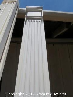 (4) Poly Pilasters 8' x 7""