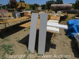 Pallet of Assorted White Cabinet Doors